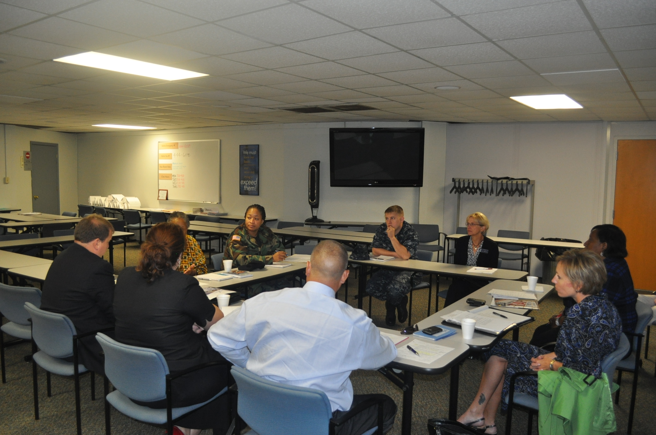 Veteran Focus Group at Norfolk Naval Station