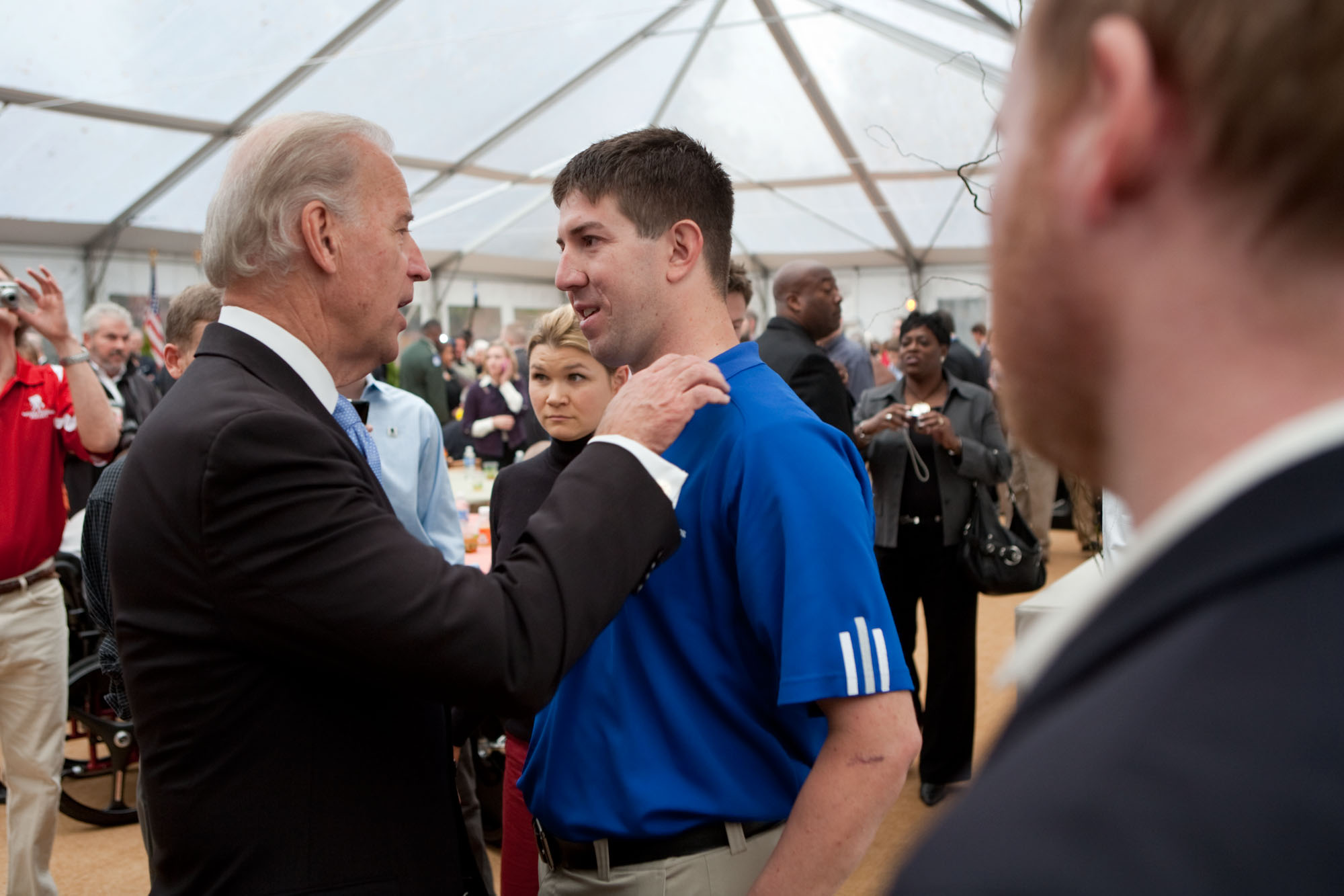 Biden Has a Talk on Veterans Day