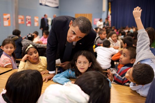 President Obama at Viers Mill Elementary