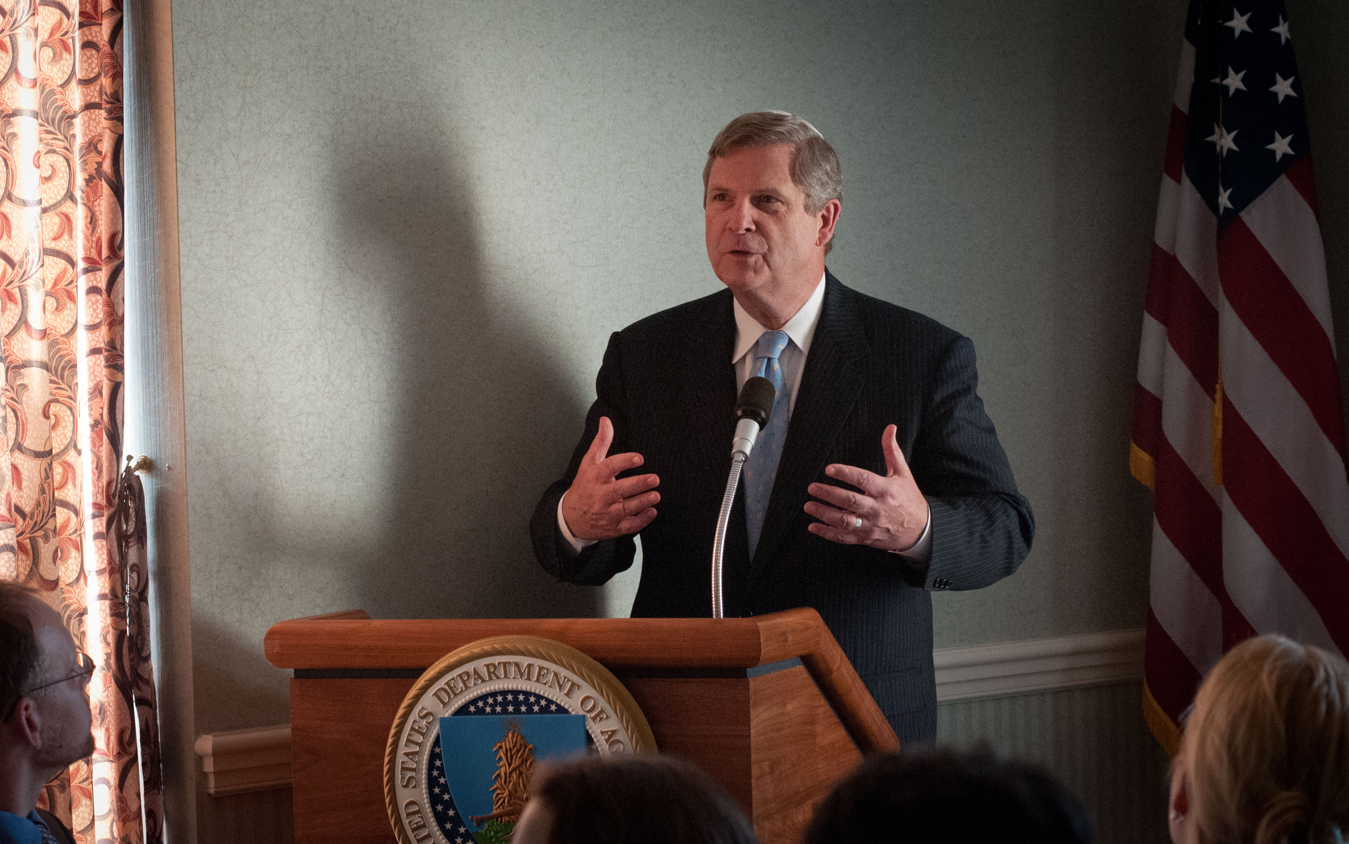 Secretary Tom Vilsack Speaking at USDA Seder
