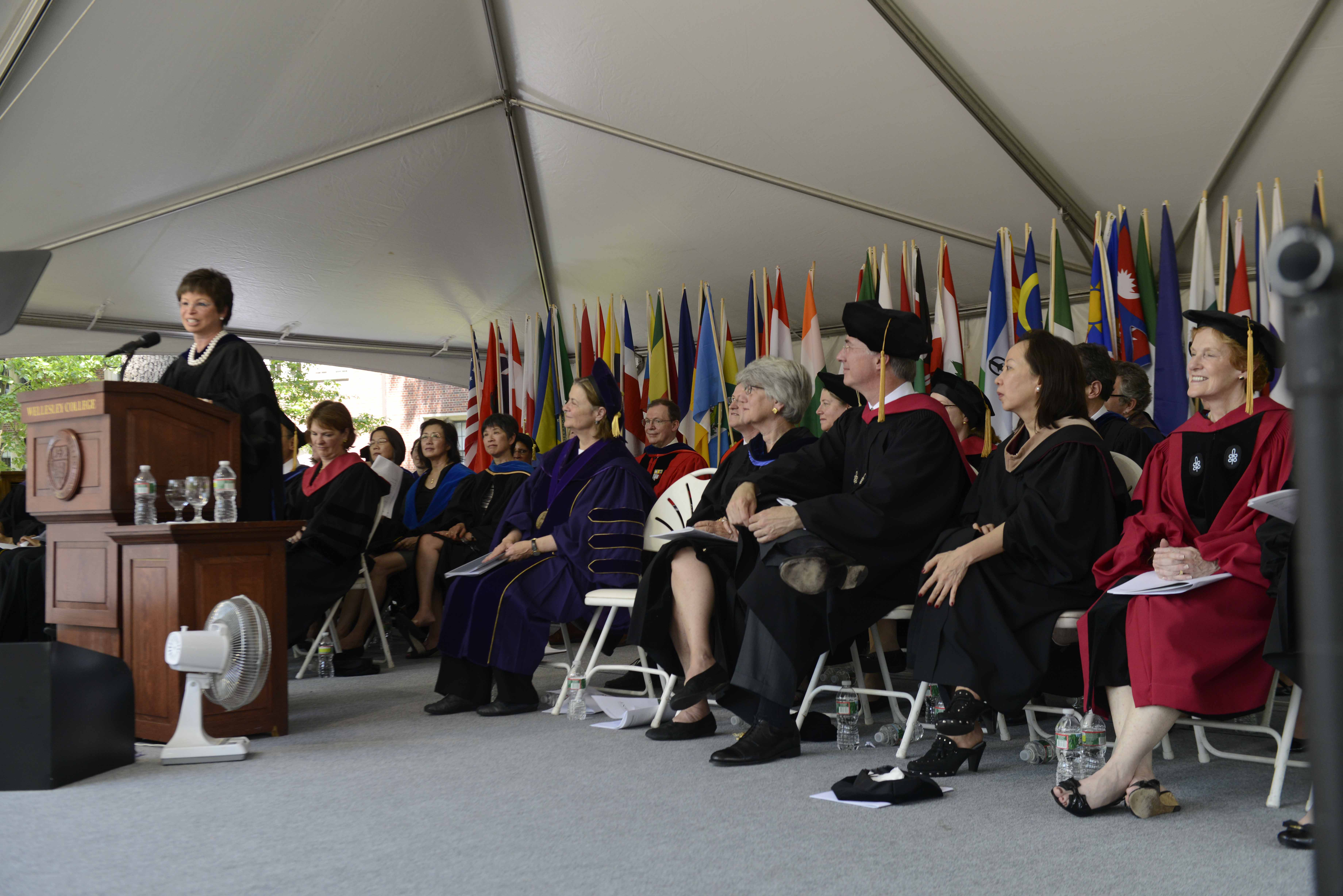 Valerie Jarrett at Wellesley Commencement