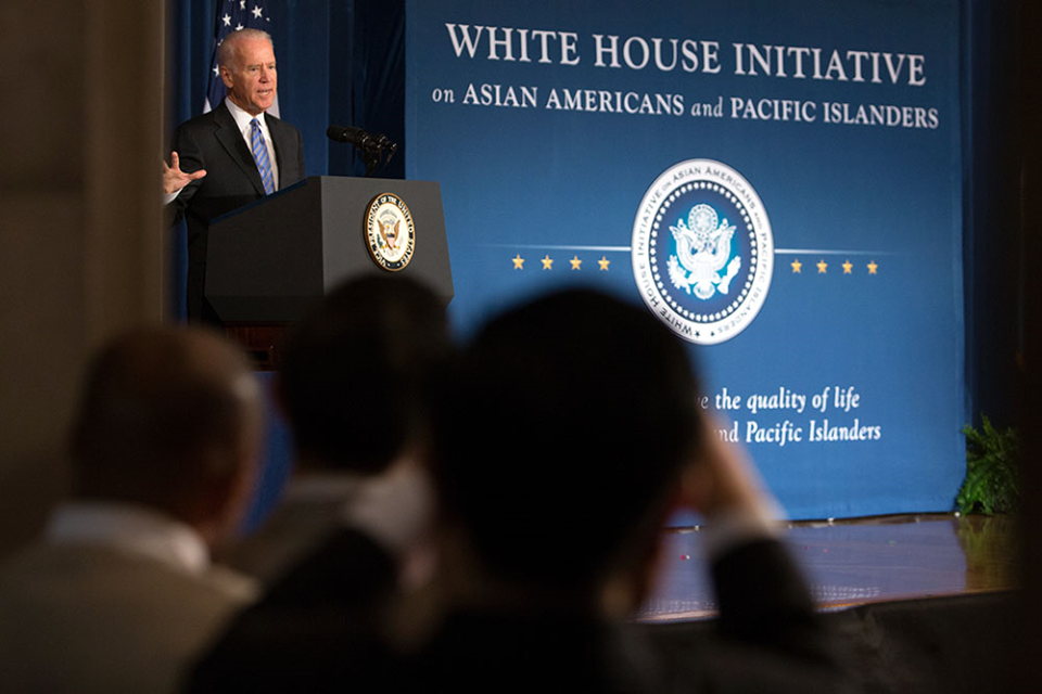 Vice President Biden Addresses AAPI Heritage Month Opening Ceremony