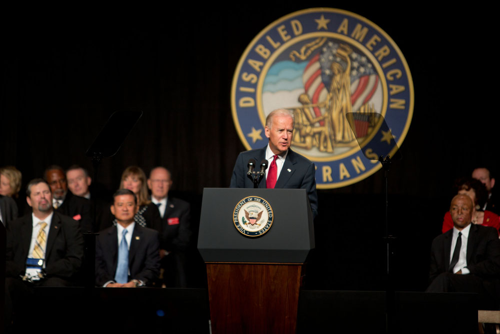 Vice President Biden Speaks to the Disabled American Veterans