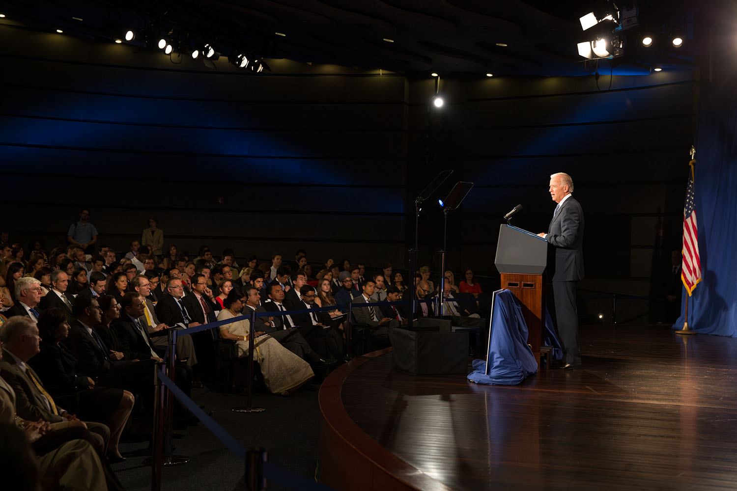 Vice President Joe Biden delivers remarks on U.S. policy towards the Asia-Pacific region