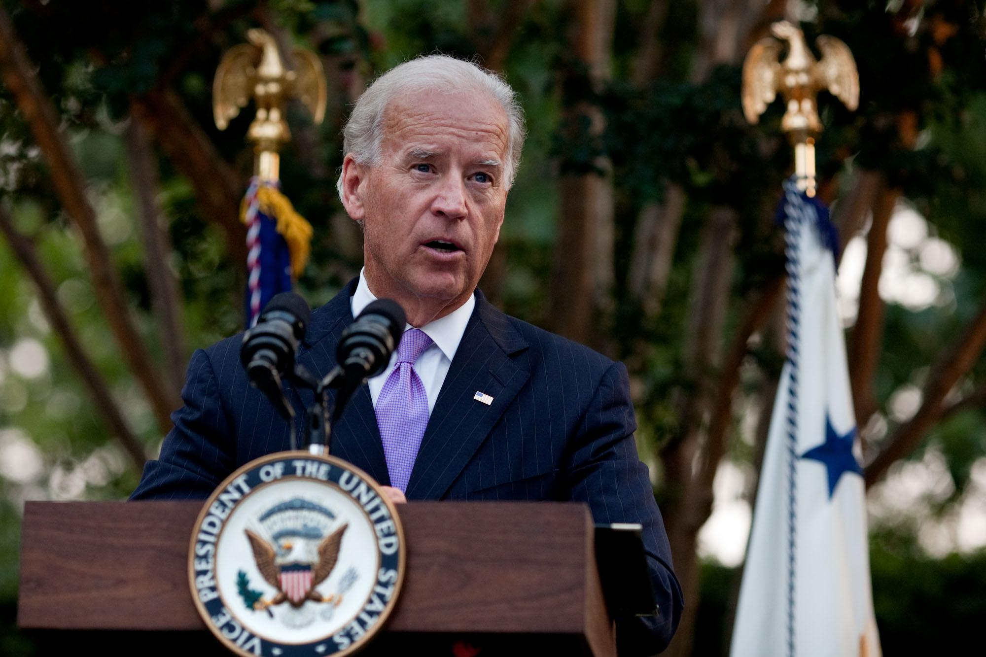 Vice President Joe Biden Speaks at Violence Against Women Event