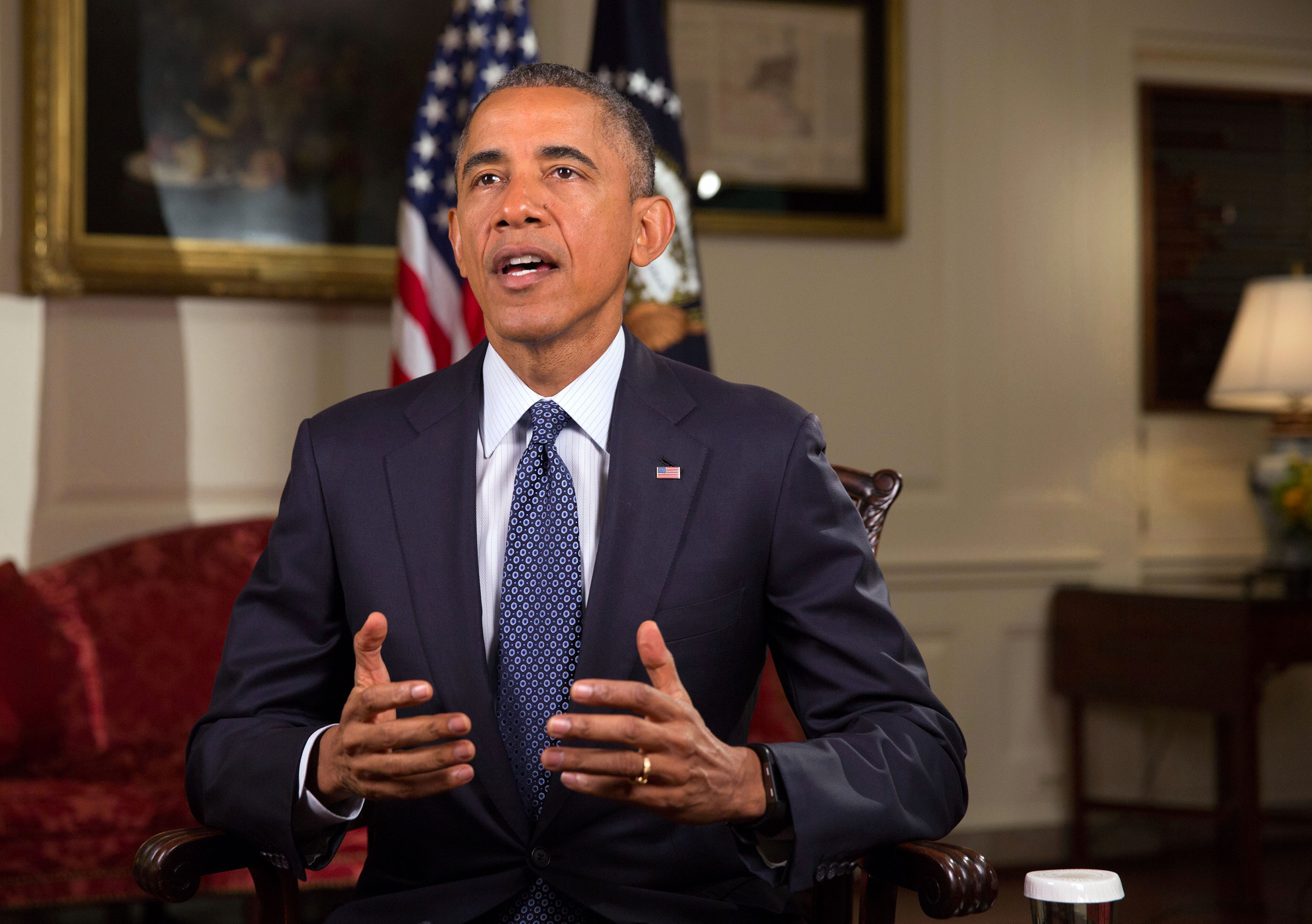 President Obama Tapes the Weekly Address 6.6.15