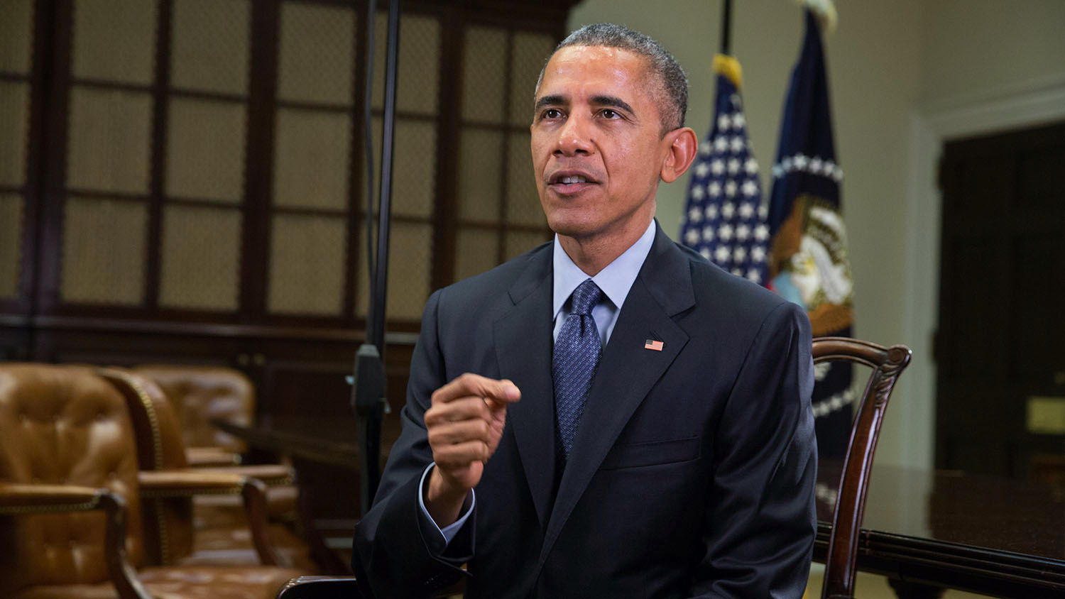 President Obama Records the Weekly Address March 12