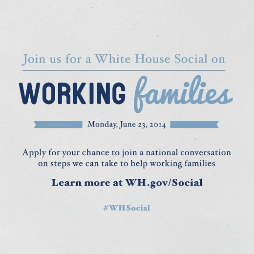Working Families Summit Social Invite