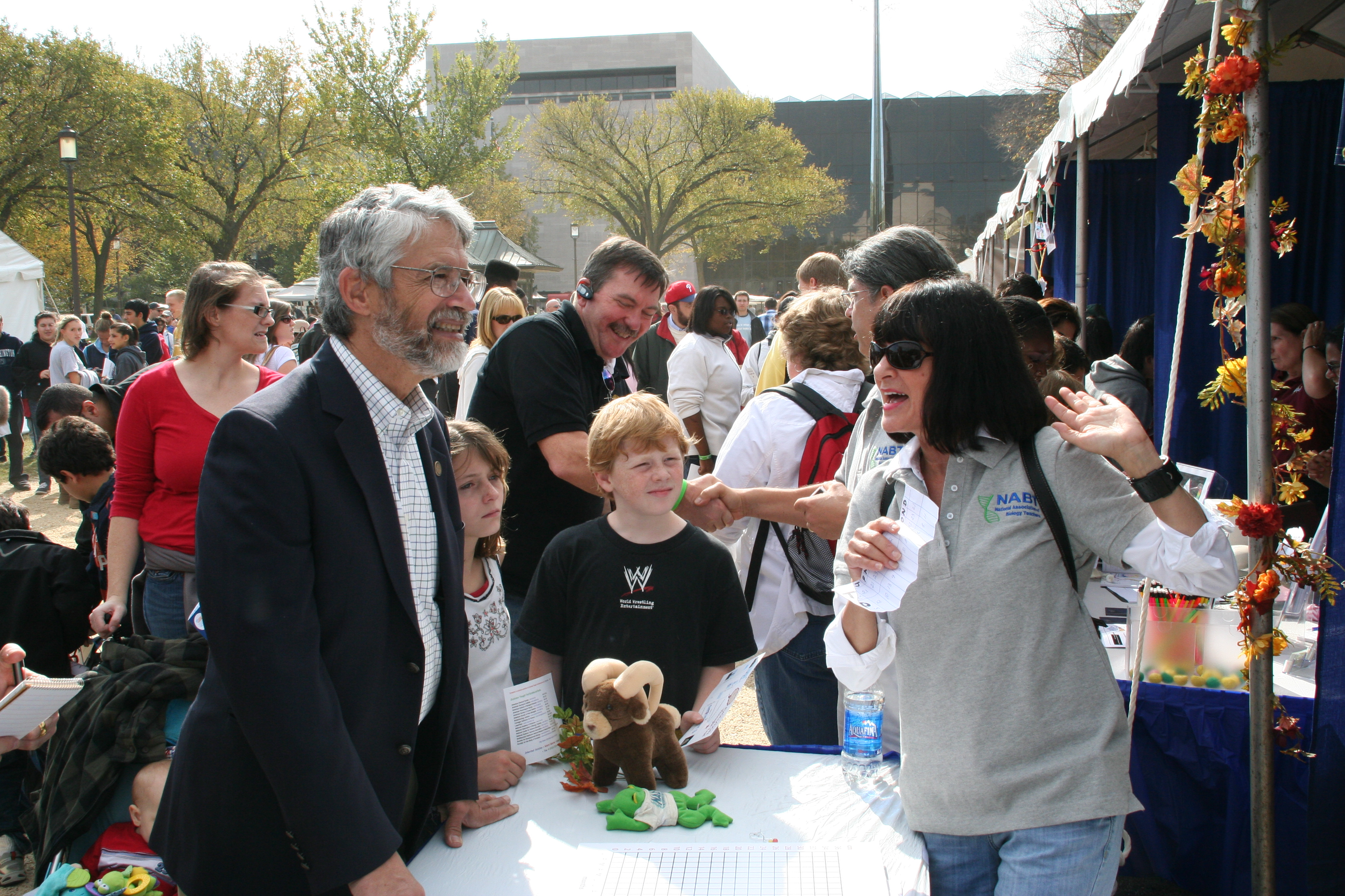 Dr. Holdren at USA Science and Engineering Festival 10