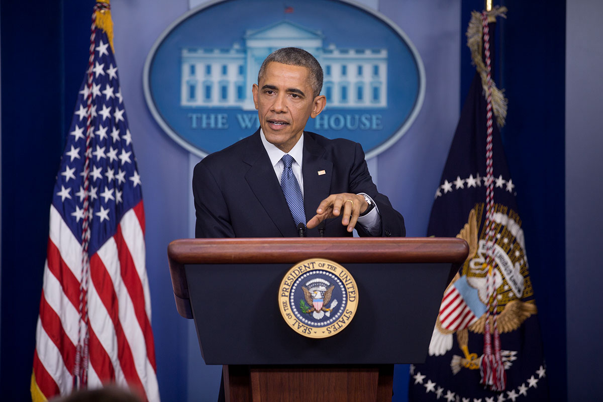 President Obama Speaks at Year-End Press Conference