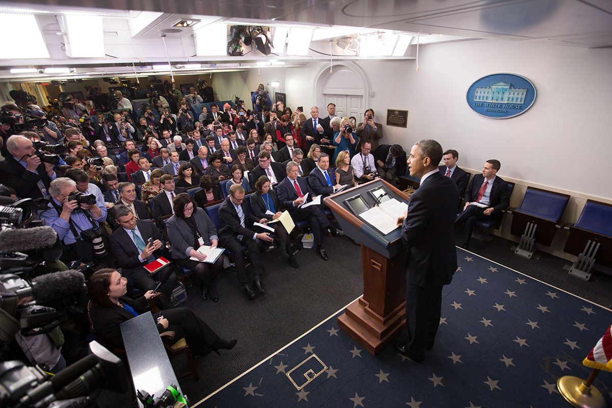 President Obama Speaks to Press at Year-End Press Briefing