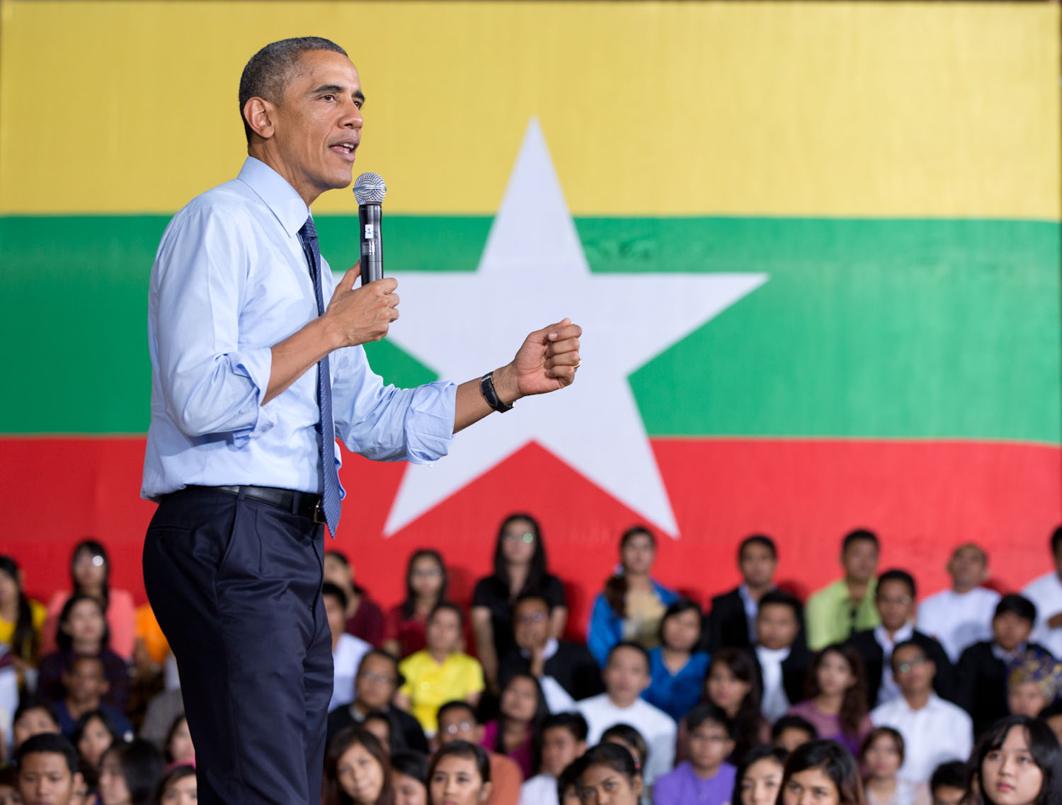 President Obama Answers Questions at YSEALI Town Hall