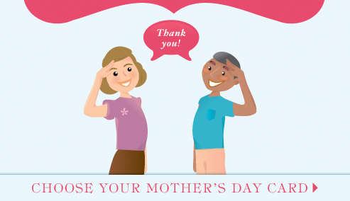 Choose a Mother's Day card