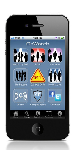 "Image of ""On Watch"" iPhone app"