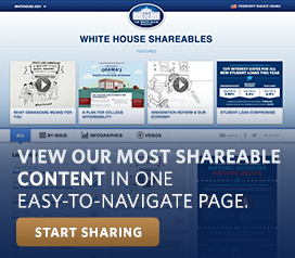 White House Shareables
