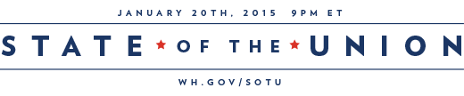 2015 State of the Union - January 20th, 9PM ET