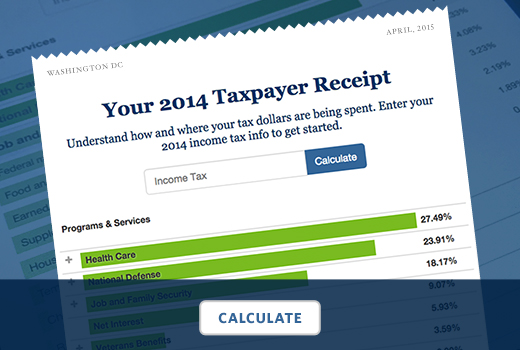 The 2014 Taxpayer Receipt