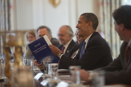 President Obama meets with PCAST