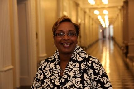 Champion of Change Community College Charlene Dukes