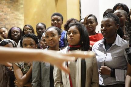 South African Women Listen to FLOTUS Address