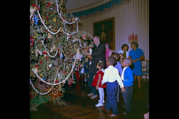 First Family Christmas: LBJ 1964
