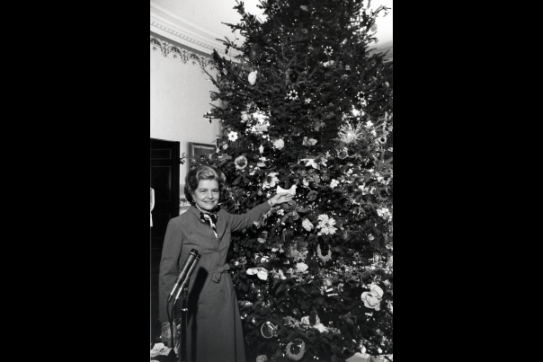 Christmas First Family: Betty Ford 1976