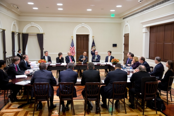 President Obama meets with Democratic Governors, Feb 22, 2013