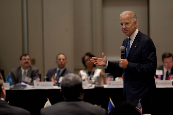 Vice President Joe Biden addresses the National Association of Lieutenant Governors