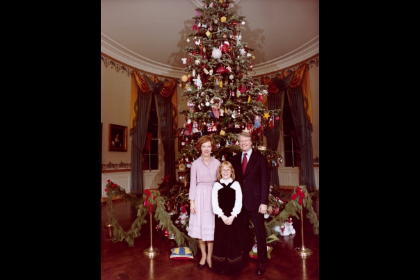 Christmas First Families: Carter 1977