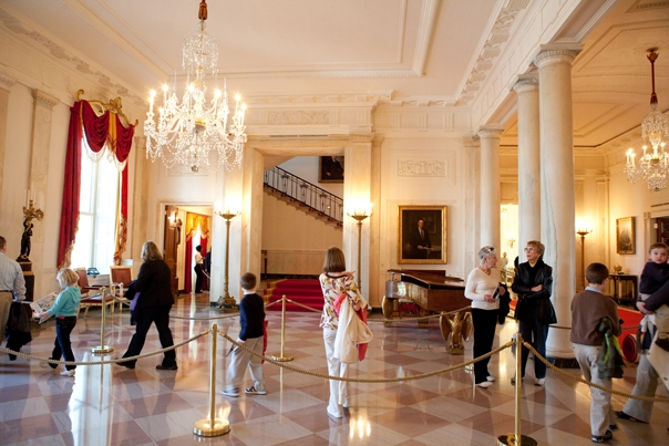 The Public In The Grand Foyer Of The WH, March 31, 2009. (Official WH Photo  By S Appleton)
