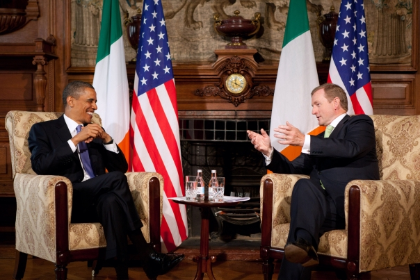 President Barack Obama Meets with Taoiseach Enda Kenny