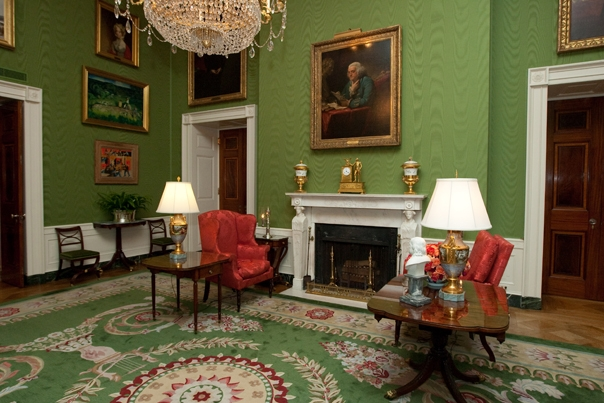 D 233 Cor Amp Art Rooms The White House