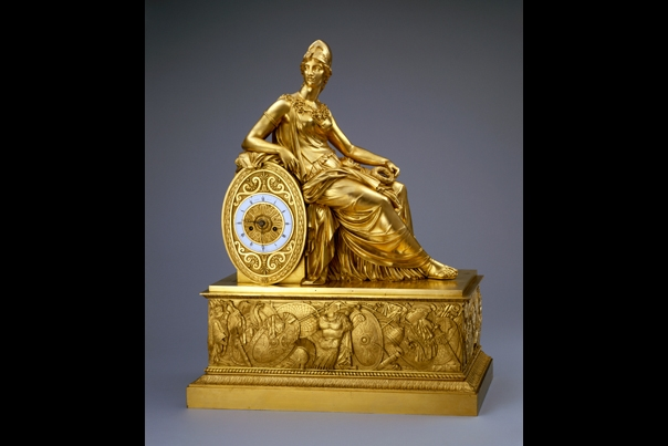 Minerva Clock Thomire 1817