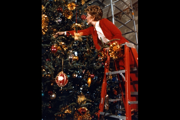 Christmas Nancy Reagan