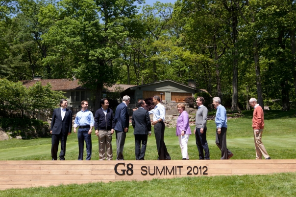 G8 Summit Family Photo