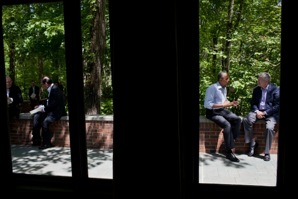 President Obama Talks With Prime Minister Harper