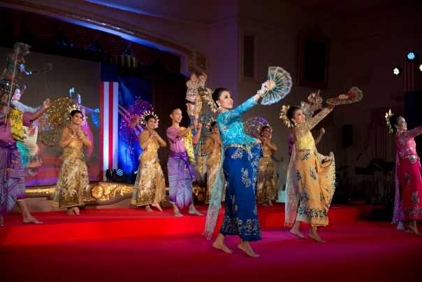 Dancers Perform In Bangkok