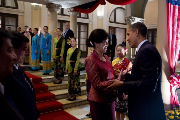 President Obama Talks With Prime Minister Shinawatra
