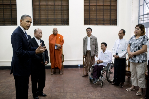 President Obama Talks With Human Rights Advocates