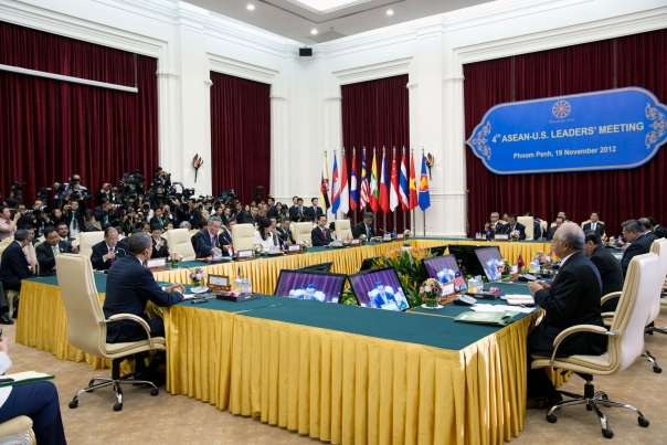 President Obama At The U.S.–ASEAN Leaders Meeting