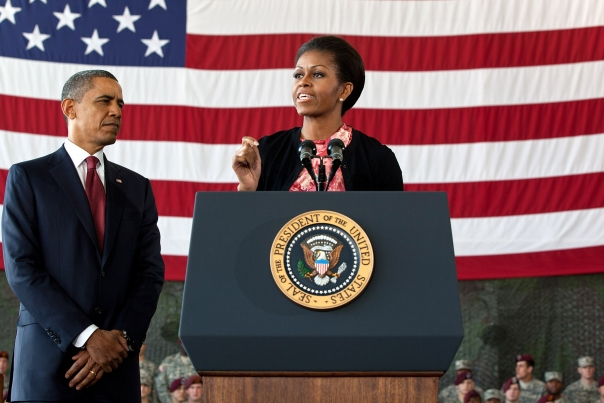 First Lady Introduces President Barack Obama