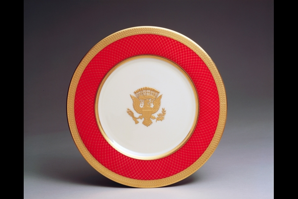 Reagan Service Plate 1