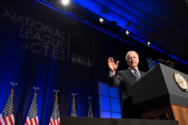 Vice President Biden Addresses the National League of Cities