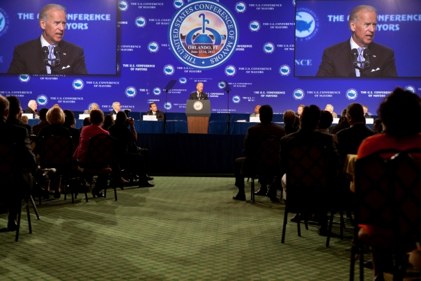 Vice President Biden Speaks to Conference of Mayors