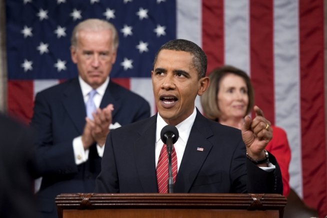 resident Barack Obama delivers a health care address to a joint session of Congress at the U.S. Capitol in Washington, D.C., September 9, 2009