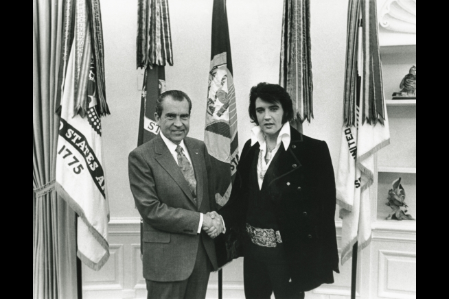 President Nixon and Elvis in the Oval Office | The White House