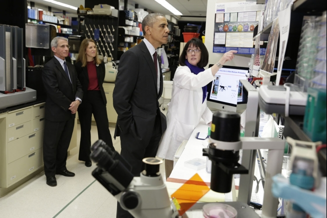 Obama, Fauci etc.