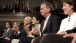 Senators Hatch, Snowe, Gregg and Collins listen