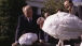 Gerald Ford is presented with a Thanksgiving turkey