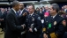 President Obama greets Camden County N.J. Police Chief J. Scott Thomson